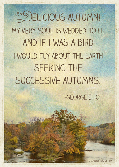 George Eliot: Autumn