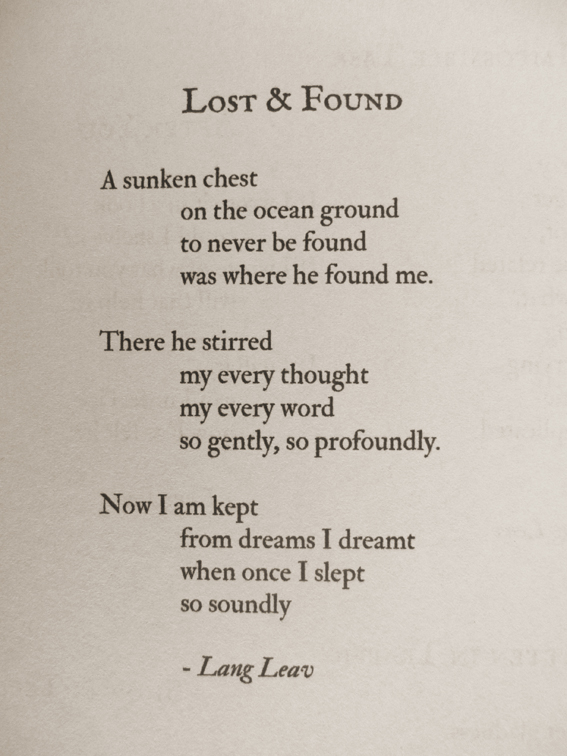 The Poetry of Lang Leav