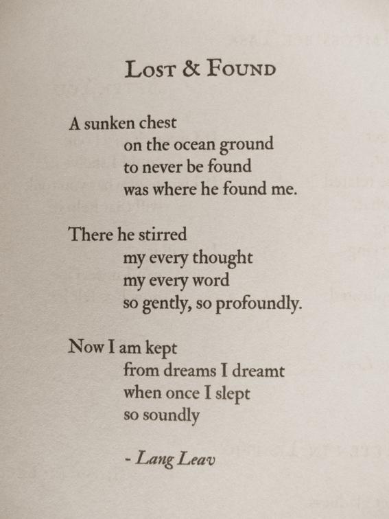 The Poetry of Lang Leav