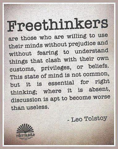Leo Tolstoy: Freethinkers